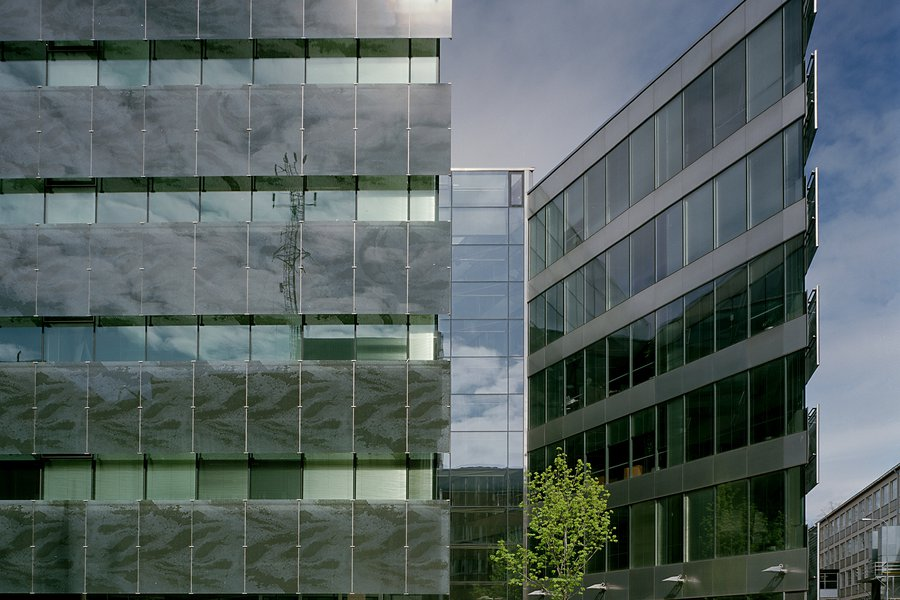 Sonera 2000 Office building Facade design co-operation with SARC Architects ltd.